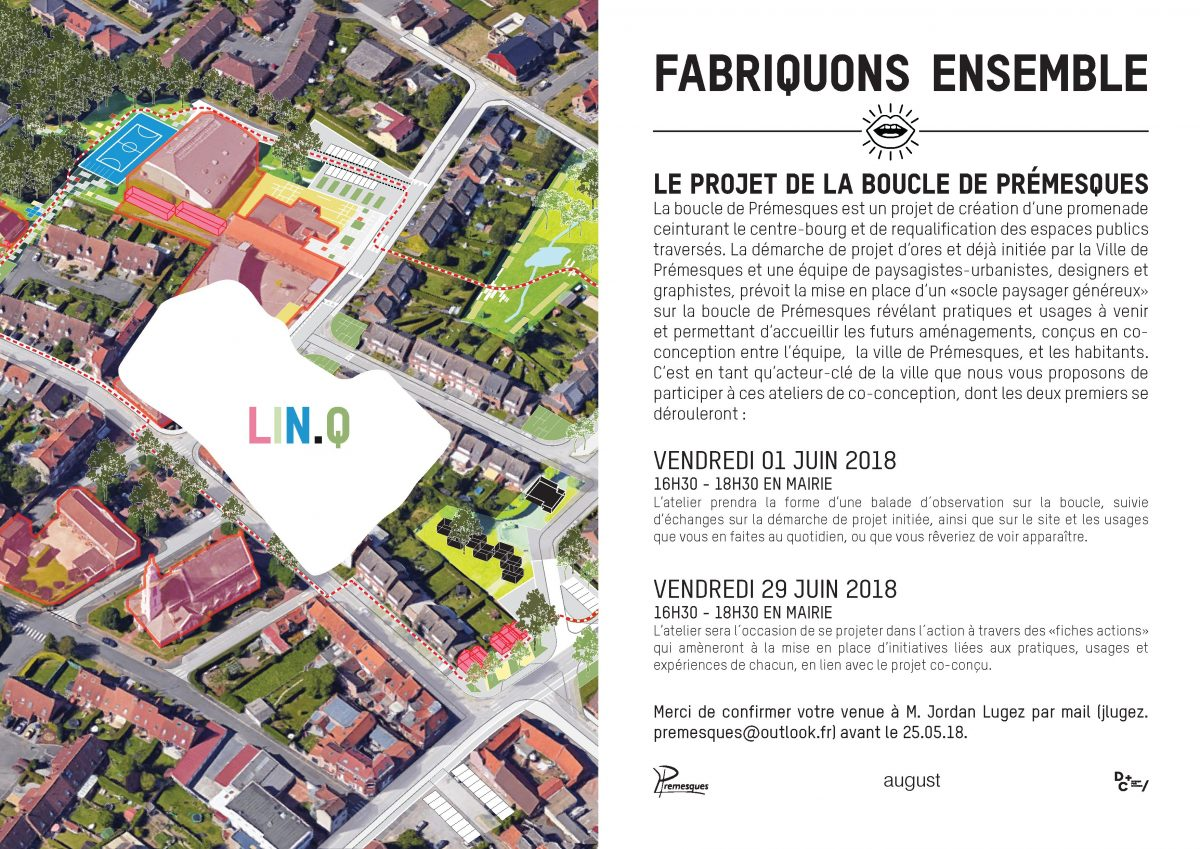 linq premesques boucle agence august