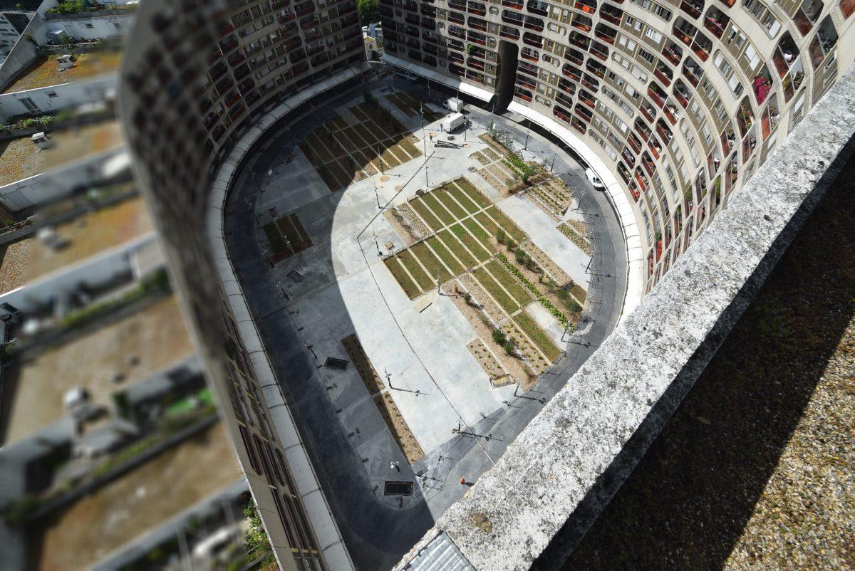 chantier de la place haute en cours quartier du pont de sèvres boulogne billancourt