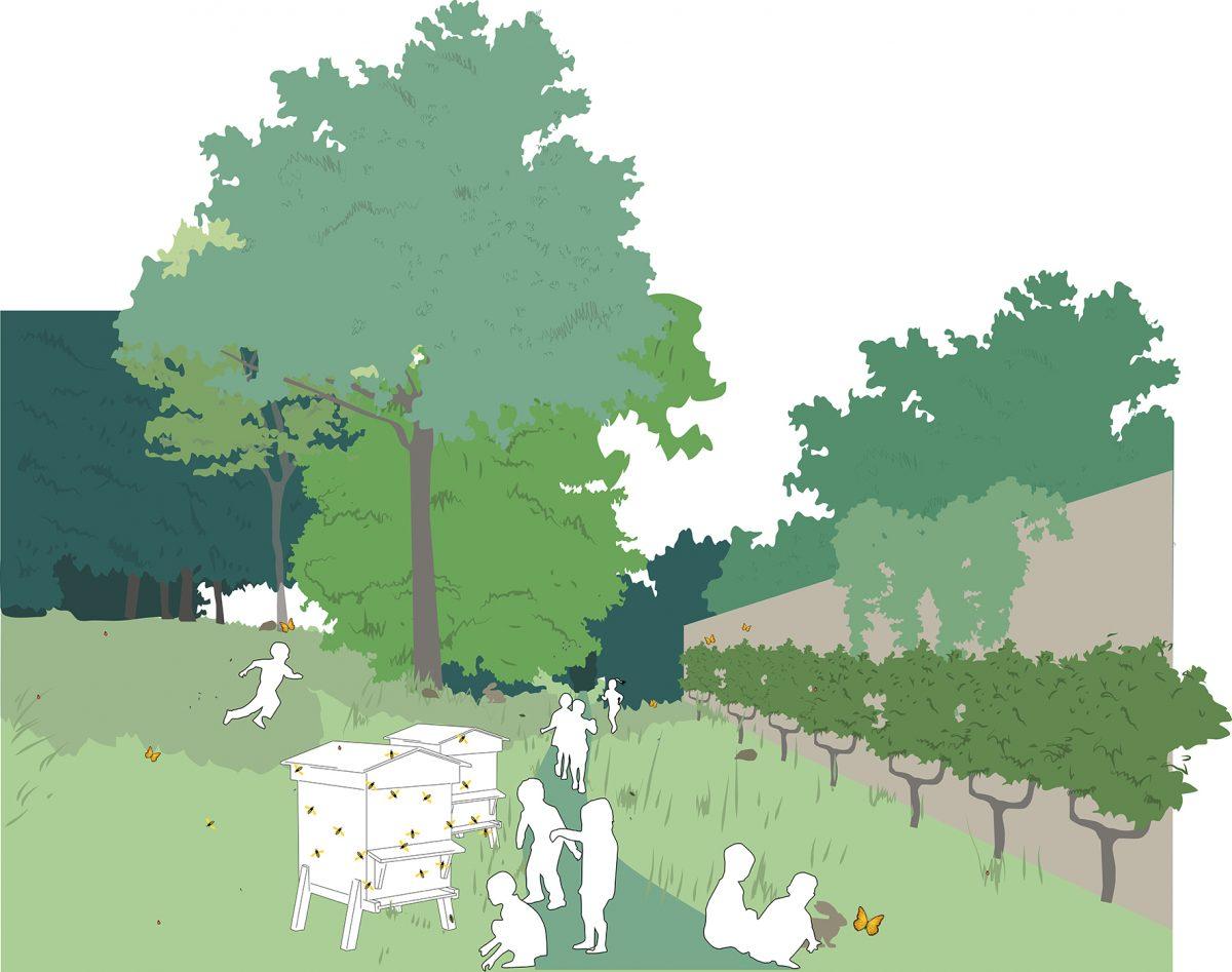 parc maurice thorez agence august patchwork-laboratoire de biodiversité