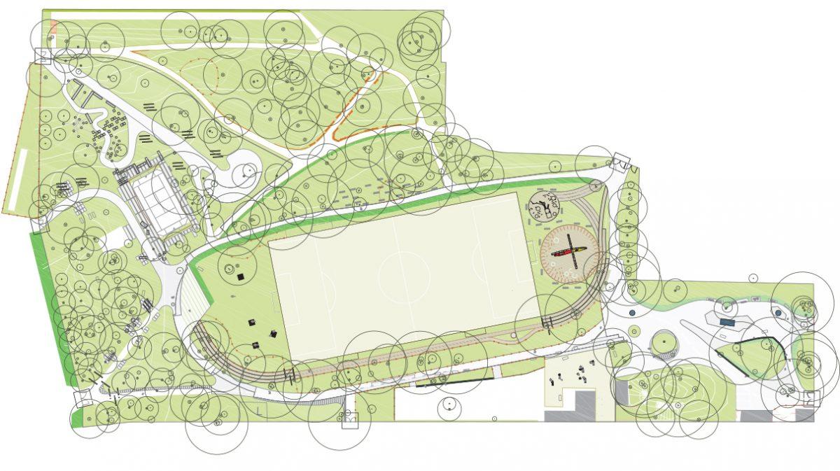 parc maurice thorez agence august patchwork-plan