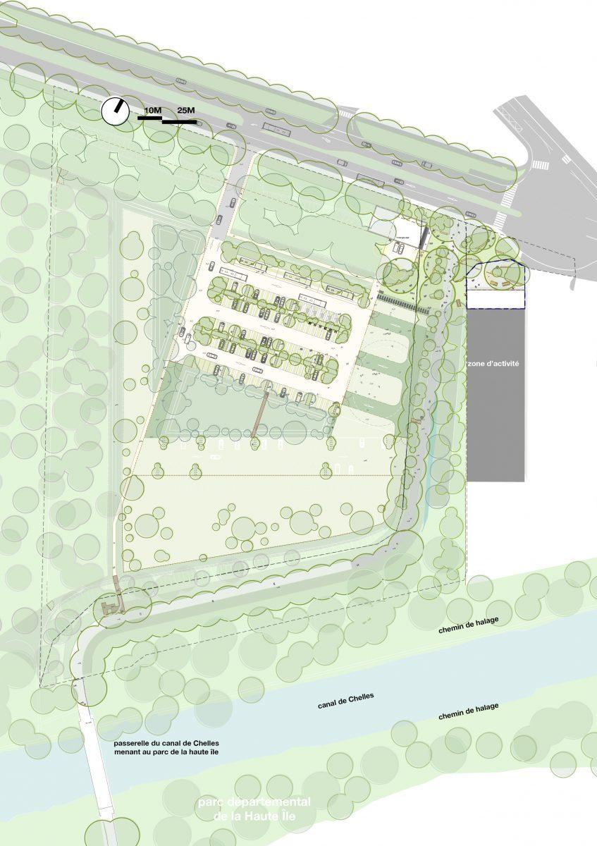 haute île seine saint denis parc départemental extension agence august landscape